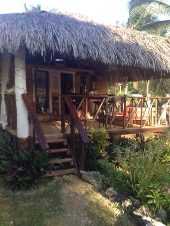 Villa La Caleta: Outdoor Dining/lounge