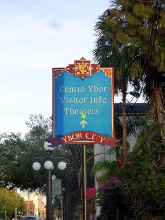 Ybor City Historic Walking Tours : Colorful signage