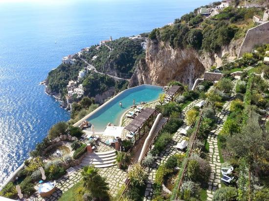 Conca dei Marini, Italy: Infinity Pool