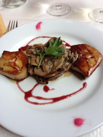 Le Jardin d'Ivy : foie gras poêlé