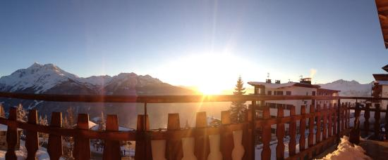 Chalet Jeode : The view from the balcony