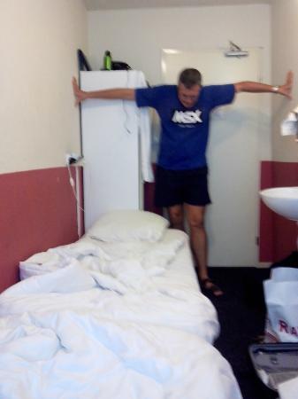 Hotel Old Quarter : Eu n disse q o quarto era estreito?