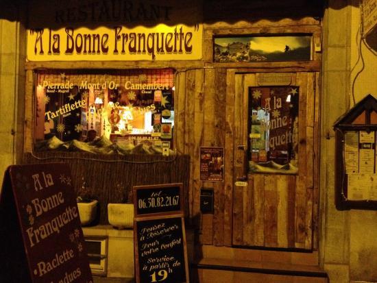 Restaurant Cauterets A La Bonne Franquette