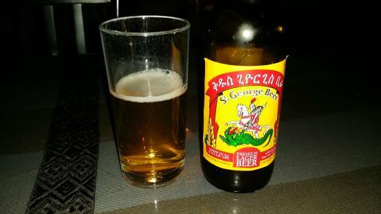 habesha restaurant and bar: Ethiopian beer.