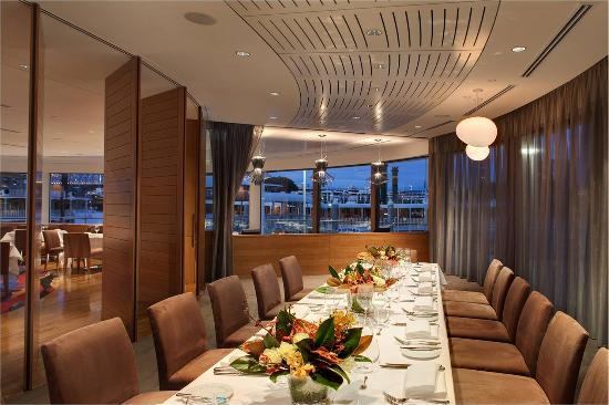 Aria in room dining