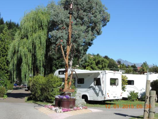 Queenstown Holiday Park & Motel Creeksyde : Site view