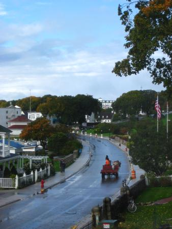 Inn on Mackinac : Room #300, another view toward Downtown