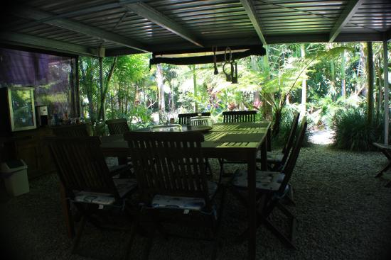 Boutique Bungalows: Breakfast/dining