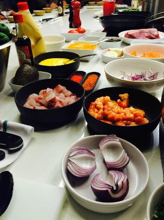 Curso de cocina peruana bild von la foodieteca for Cursos de cocina barcelona