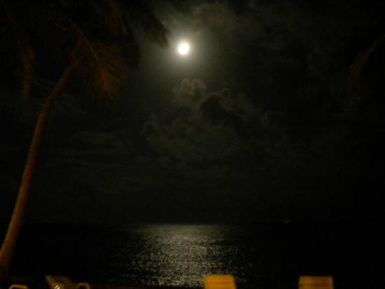 Banana Beach Resort: Vista nocturna, una postal!