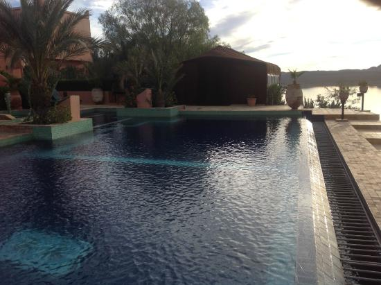 Les Tourmalines: the infinity pool