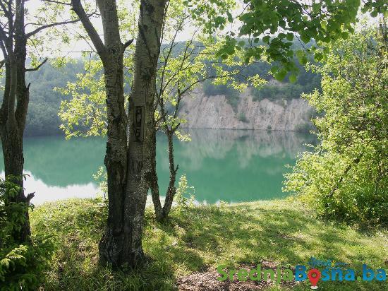Central Bosnia Canton, Bosnie-Herzégovine : Jezero Radovan