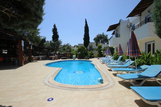 Cennet Apartments: havuz