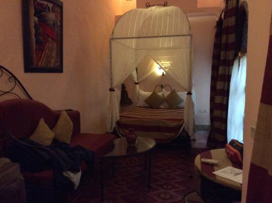 Riad Amina : our room