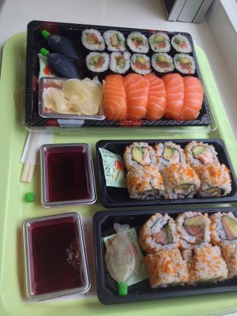 Wasabi Sushi : -