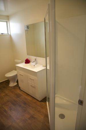City Centre Motel: Shower Unit