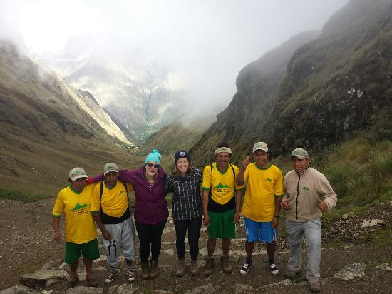 Cusi Travel: Amazing group of superhero Quechua men - wouldn't have been the same without this fantastic team