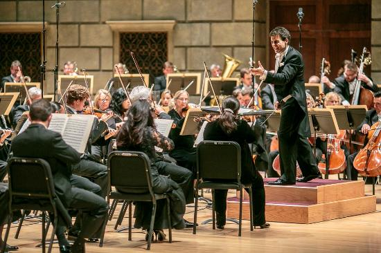 A review of the rochester philharmonic orchestra concert at eastman theater