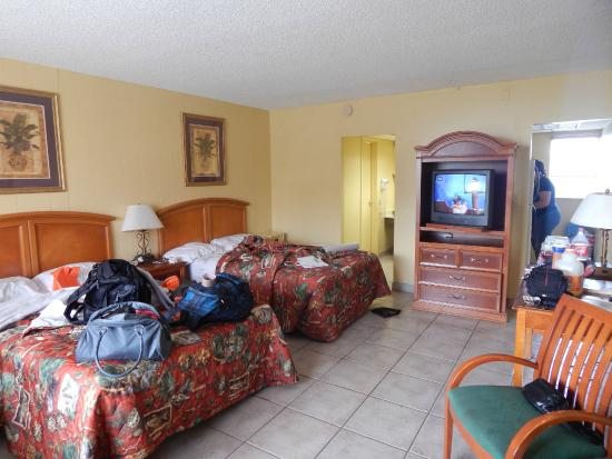 Lafayette Motel: HABITACION