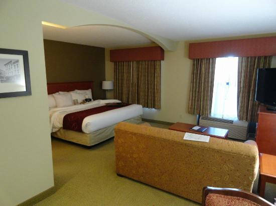 Comfort Suites Arena: Nice spacious room