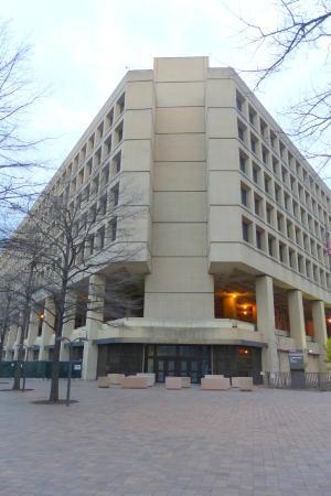 Federal Bureau of Investigation: FBI headquarters in Washington DC