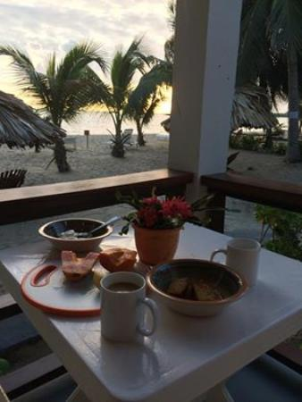 Ranguana Lodge: View from the front porch