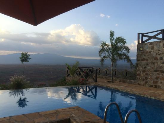 Bashay Rift Lodge : pool