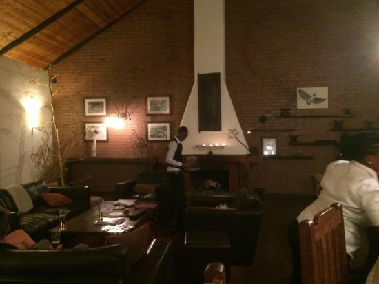 Bashay Rift Lodge : lobby area