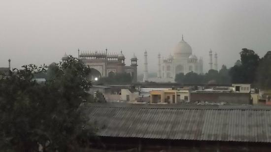 Shanti Lodge: View from the rooftop restaurant