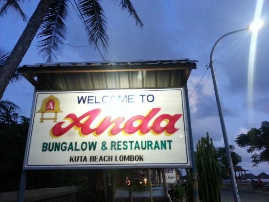 Anda Bungalow & Restaurant: Anda