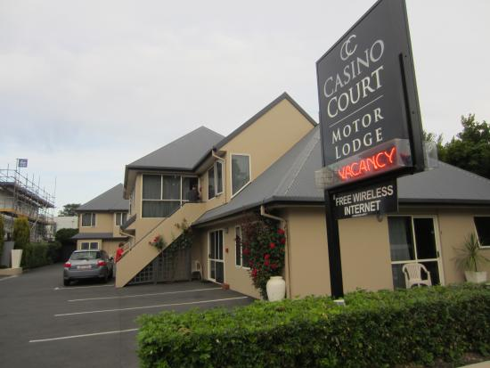 Casino Court Motor Lodge: Casino Court Motel, Christchurch.