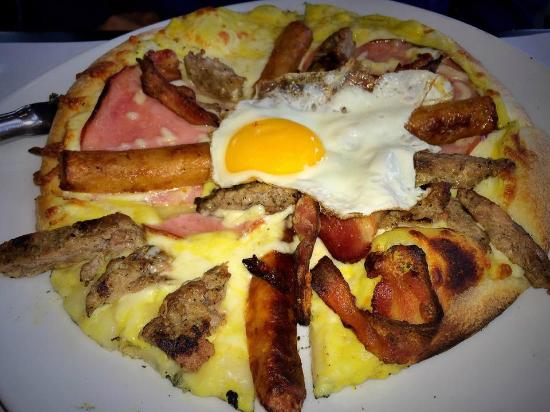 Kitchen 73: Breakfast Pizza
