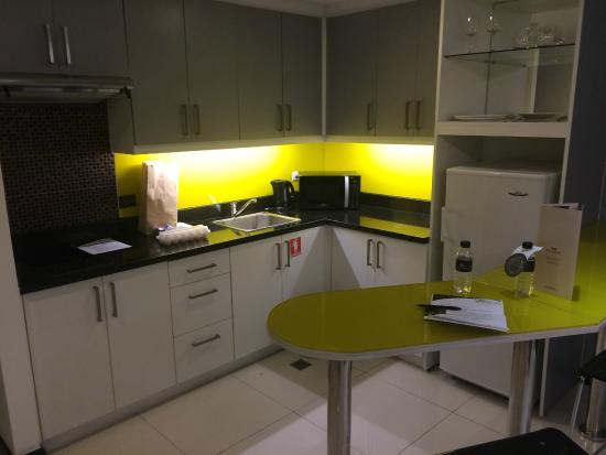 Y2 Residence Hotel Kitchen