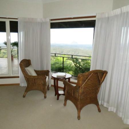 Braeside Bed & Breakfast : Highlands view