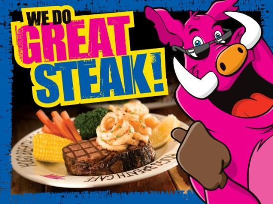 Hog's Breath Cafe: WE do Great Steaks