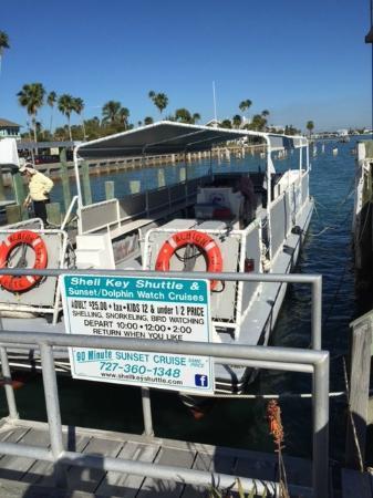 Merry Pier: Dock for Shell Island Shuttle