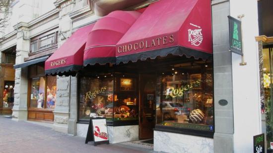 Rogers' Chocolates: Entrance