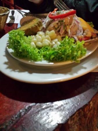 Puerto Cruz : Ceviche