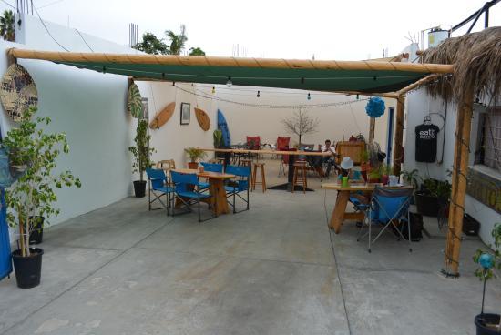 Burrito Surf-Burrito Shop 1895: View of the dining area