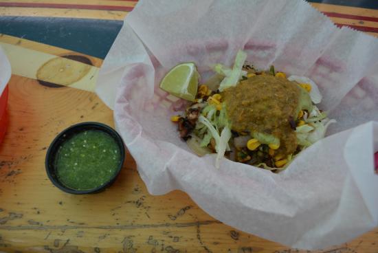 Burrito Surf-Burrito Shop 1895: Get the Pastor Taco!!!!