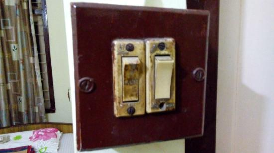Mayur Hotel: switch board
