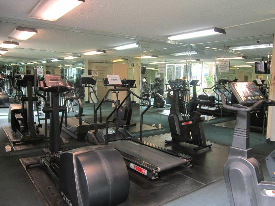 Ramada Plaza Fort Lauderdale: Exercise Room - Natural Light