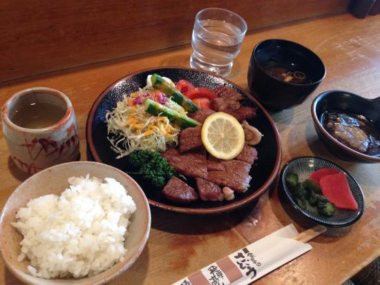 Shokujidokorosaito : 定食