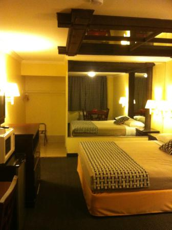 Eldorado Inn & Suites : No kitchenette but have fridge n micro