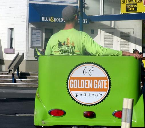 Golden Gate Pedicab Private Tours