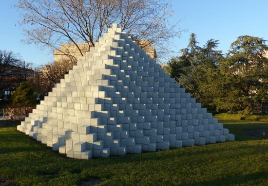 Pyramid Installation Picture Of National Gallery Of Art Sculpture Garden Washington Dc