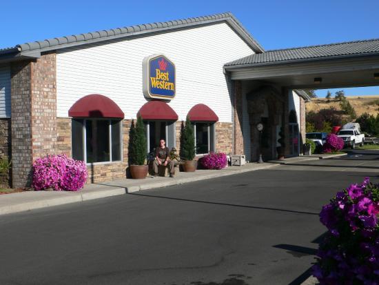 BEST WESTERN Prineville Inn: Hoteleingang