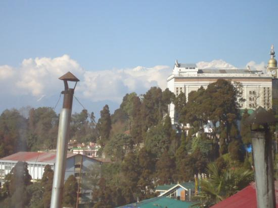 Hotel Sonar Bangla - Darjeeling : view from room