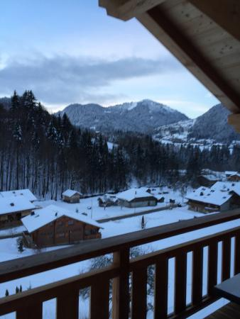 Chalet Amuse Bouche: View from our room