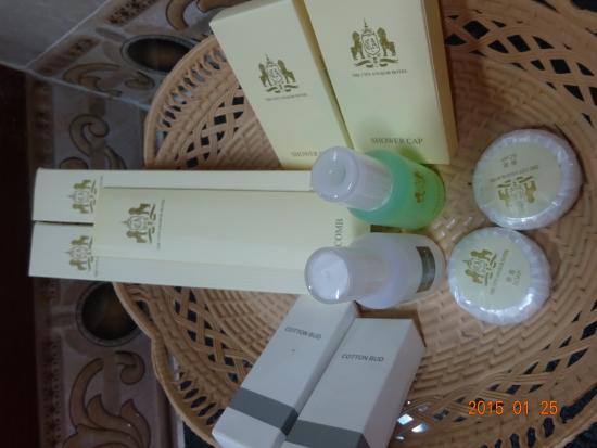 City Angkor Hotel: アメニティ
